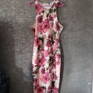 Love J pink and white flower dress